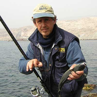 Los aparejos invernales para la pesca del vídeo